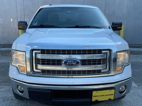 2014 Ford F-150 for sale at Delta Auto Alliance in Houston TX