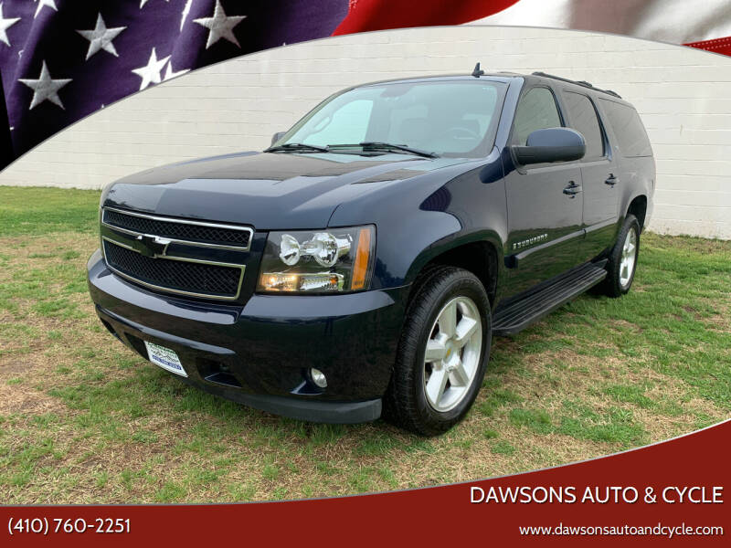 2007 Chevrolet Suburban for sale at Dawsons Auto & Cycle in Glen Burnie MD
