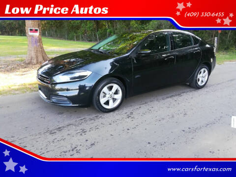 2015 Dodge Dart for sale at Low Price Autos in Beaumont TX