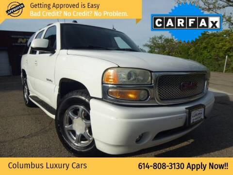 2004 GMC Yukon for sale at Columbus Luxury Cars in Columbus OH