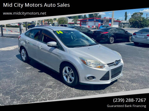 2014 Ford Focus for sale at Mid City Motors Auto Sales in Fort Myers FL