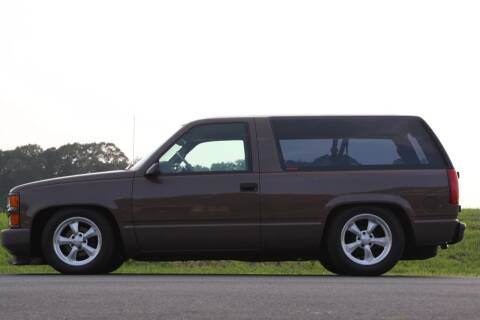 1998 Chevrolet Tahoe for sale at McQueen Classics in Lewes DE