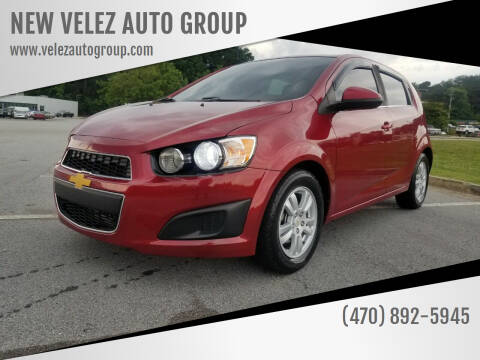 2012 Chevrolet Sonic for sale at NEW VELEZ AUTO GROUP in Gainesville GA
