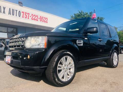 2010 Land Rover LR4 for sale at Trimax Auto Group in Norfolk VA