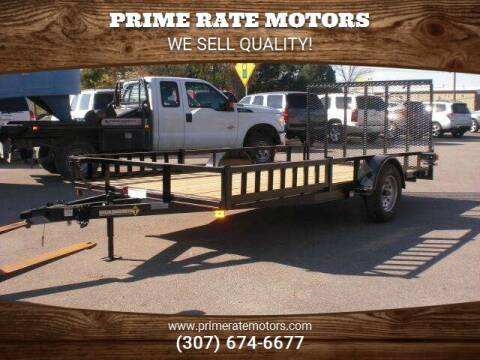 2021 Diamond-T 14' Utility Trailer for sale at PRIME RATE MOTORS in Sheridan WY