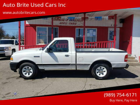 2011 Ford Ranger for sale at Auto Brite Used Cars Inc in Saginaw MI