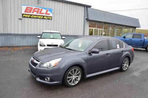 2014 Subaru Legacy for sale at Ball Pre-owned Auto in Terra Alta WV