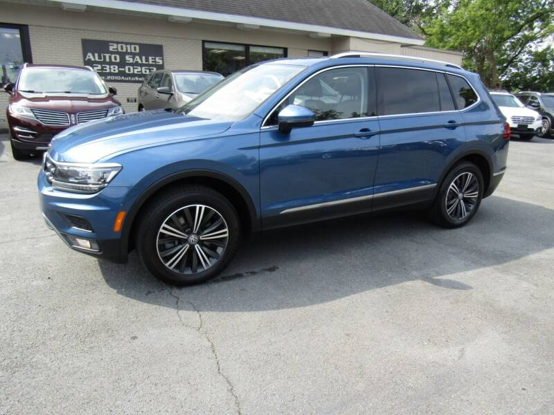 2018 Volkswagen Tiguan for sale at 2010 Auto Sales in Troy NY