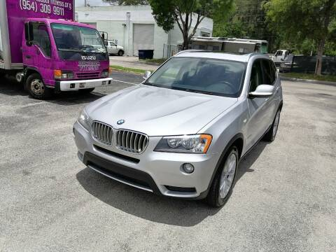 2014 BMW X3 for sale at Best Price Car Dealer in Hallandale Beach FL