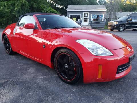 2008 Nissan 350Z for sale at A-1 Auto in Pepperell MA