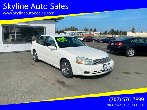 2005 Saturn L300 for sale at Skyline Auto Sales in Santa Rosa CA