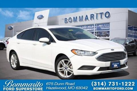 2018 Ford Fusion Hybrid for sale at NICK FARACE AT BOMMARITO FORD in Hazelwood MO