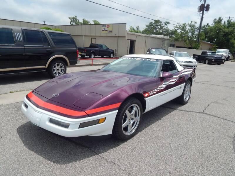 1995 Chevrolet Corvette for sale at Iconic Motors of Oklahoma City, LLC in Oklahoma City OK