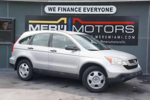 2009 Honda CR-V for sale at Meru Motors in Hollywood FL