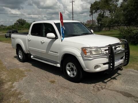 2006 Toyota Tundra for sale at Hartman's Auto Sales in Victoria TX