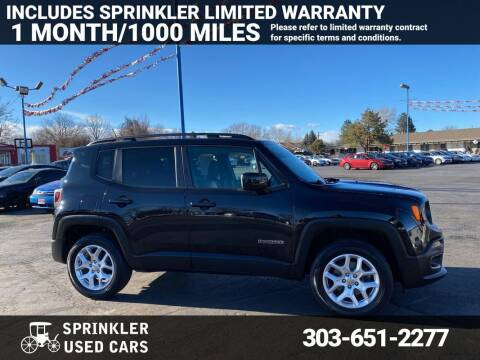 2016 Jeep Renegade for sale at Sprinkler Used Cars in Longmont CO