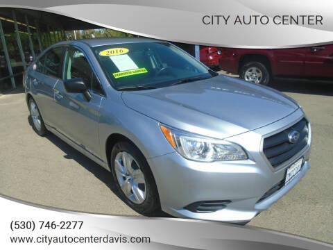 2016 Subaru Legacy for sale at City Auto Center in Davis CA