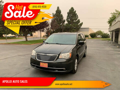 2012 Chrysler Town and Country for sale at APOLLO AUTO SALES in Sacramento CA
