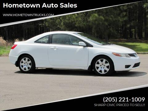 2006 Honda Civic for sale at Hometown Auto Sales - Cars in Jasper AL