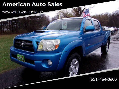 2007 Toyota Tacoma for sale at American Auto Sales in Forest Lake MN