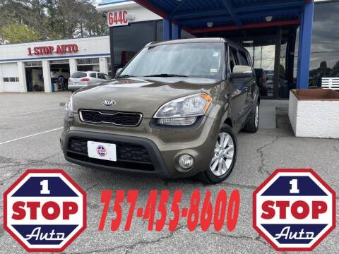2013 Kia Soul for sale at 1 Stop Auto in Norfolk VA
