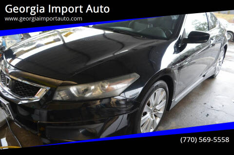 2008 Honda Accord for sale at Georgia Import Auto in Alpharetta GA
