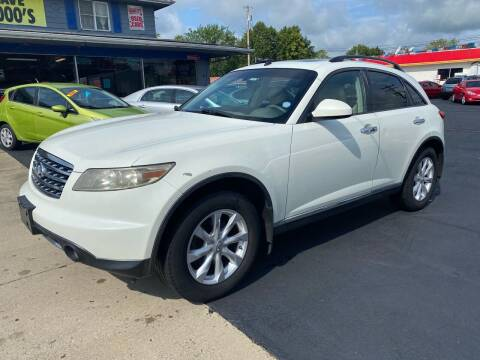 2006 Infiniti FX35 for sale at Wise Investments Auto Sales in Sellersburg IN