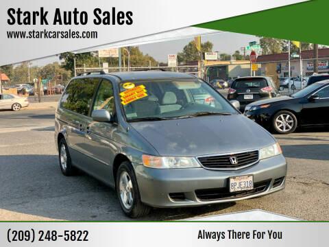2001 Honda Odyssey for sale at Stark Auto Sales in Modesto CA