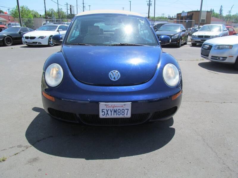2007 Volkswagen New Beetle Convertible 2.5 PZEV