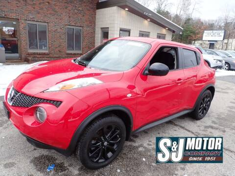 2014 Nissan JUKE for sale at S & J Motor Co Inc. in Merrimack NH