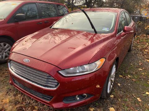 2014 Ford Fusion for sale at JerseyMotorsInc.com in Teterboro NJ