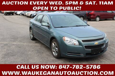 2009 Chevrolet Malibu for sale at Waukegan Auto Auction in Waukegan IL