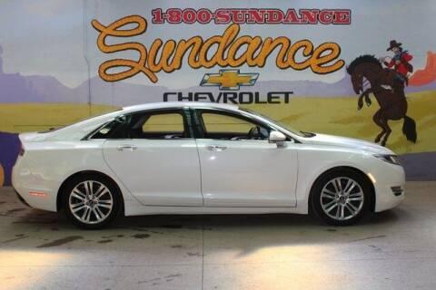 2015 Lincoln MKZ for sale at Sundance Chevrolet in Grand Ledge MI