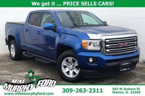 2018 GMC Canyon for sale at Mike Murphy Ford in Morton IL