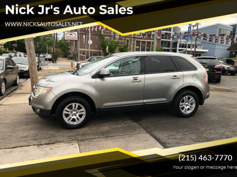2008 Ford Edge for sale at Nick Jr's Auto Sales in Philadelphia PA