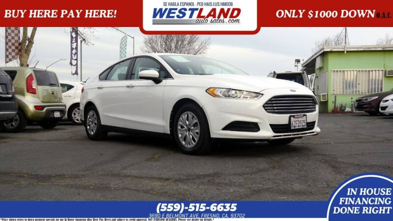 2013 Ford Fusion for sale at Westland Auto Sales on 7th in Fresno CA