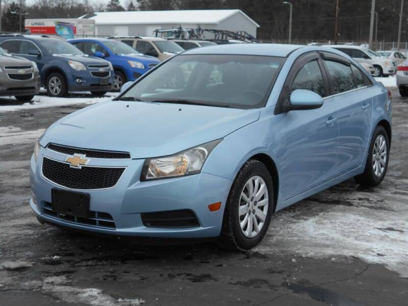 2011 Chevrolet Cruze for sale at MT MORRIS AUTO SALES INC in Mount Morris MI