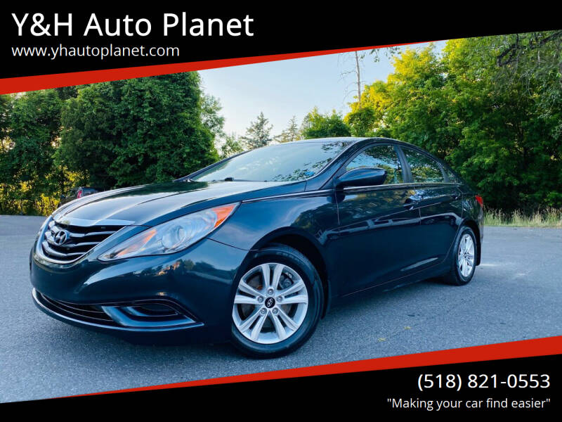 2013 Hyundai Sonata for sale at Y&H Auto Planet in West Sand Lake NY