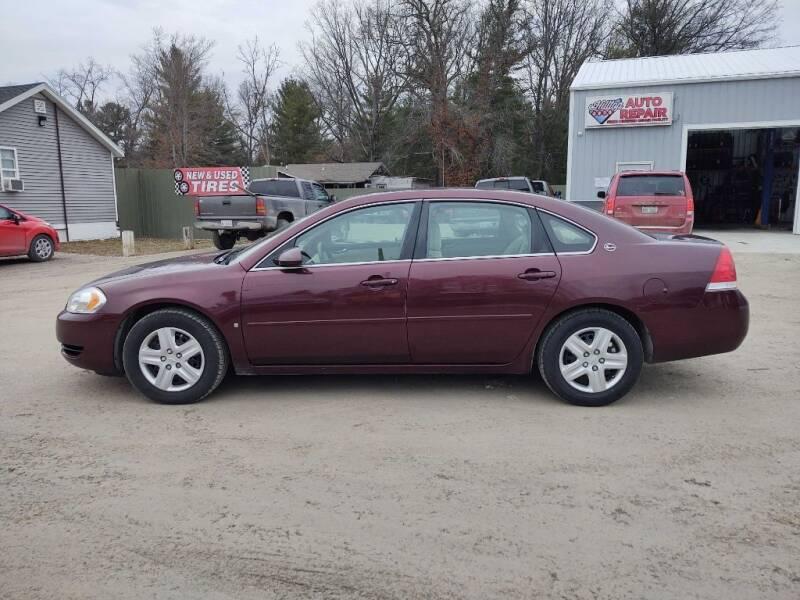 2007 Chevrolet Impala for sale at Hilltop Auto in Prescott MI
