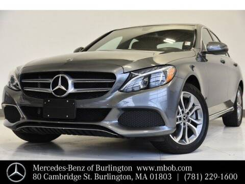 2018 Mercedes-Benz C-Class for sale at Mercedes Benz of Burlington in Burlington MA