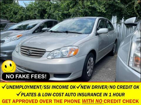 2003 Toyota Corolla for sale at AUTOFYND in Elmont NY