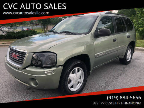 2003 GMC Envoy for sale at CVC AUTO SALES in Durham NC