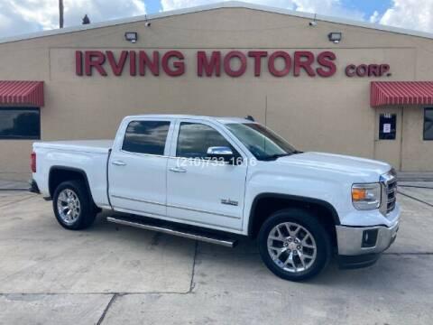 2015 GMC Sierra 1500 for sale at Irving Motors Corp in San Antonio TX