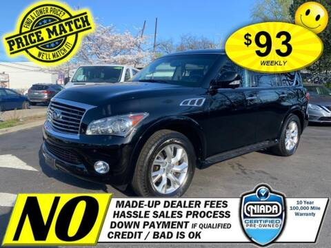 2013 Infiniti QX56 for sale at AUTOFYND in Elmont NY