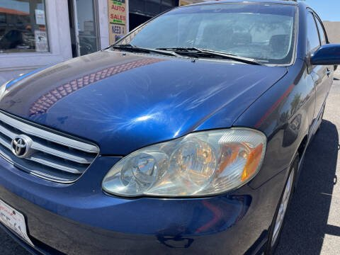 2003 Toyota Corolla for sale at Best Buy Auto Sales in Hesperia CA