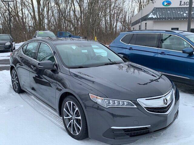 2015 Acura TLX for sale at Lighthouse Auto Sales in Holland MI