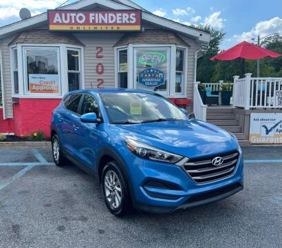 2016 Hyundai Tucson for sale at Auto Finders Unlimited LLC in Vineland NJ