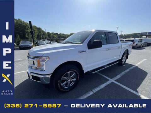 2018 Ford F-150 for sale at Impex Auto Sales in Greensboro NC