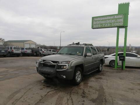 2002 Chevrolet Avalanche for sale at Independent Auto in Belle Fourche SD