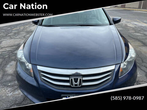 2011 Honda Accord for sale at Car Nation in Webster NY